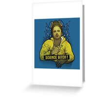 -BREAKING BAD- Science B*tch Greeting Card