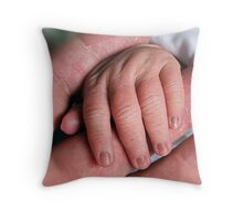 Old hands New hands! Throw Pillow