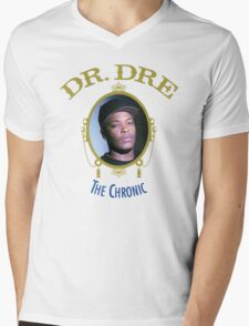 -MUSIC- Dr Dre The Chronic Cover Mens V-Neck T-Shirt