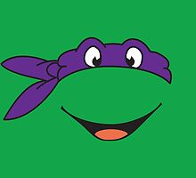 TMNT Donatello Turtles Pillow by signhunter