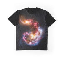 Antennae galaxies Graphic T-Shirt