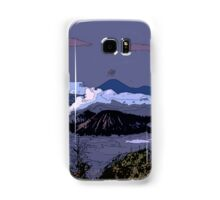 Mountains // Comic Style Samsung Galaxy Case/Skin