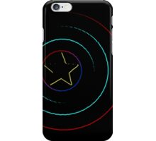 Caps Shield Neon iPhone Case/Skin