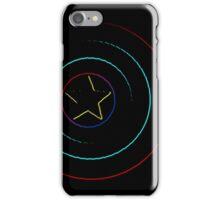 Caps Shield Neon iPhone Case/Skin