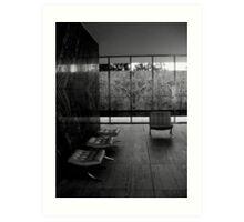 Barcelona Pavilion, Mies van der Rohe Art Print