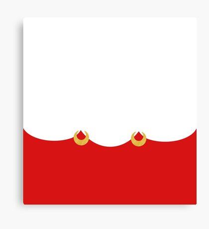 Sailor Boots White Canvas Print