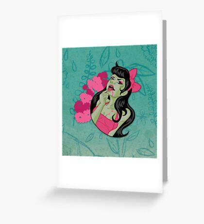 Cute n' Tasty Brains Greeting Card