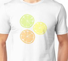 Oranges and Lemons and Limes Unisex T-Shirt