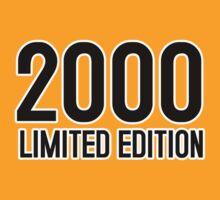 2000 LIMITED EDITION by mcdba