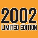 2002 LIMITED EDITION by mcdba