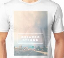 Orlando Strong (rainbow over downtown) Unisex T-Shirt