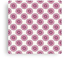 Pink floral seamless pattern. Doodle  beautiful blossom background. Hand drawn wallpaper.  Canvas Print