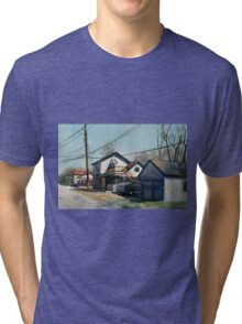 House on the Corner Tri-blend T-Shirt