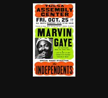 Marvin Gaye Show Poster Optimized for Black Shirt Classic T-Shirt