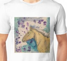 Watercolor Mustang Unisex T-Shirt