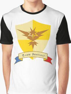 Instinct Crest Emblem Graphic T-Shirt