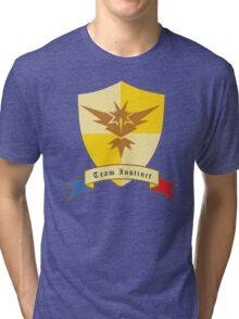 Instinct Crest Emblem Tri-blend T-Shirt