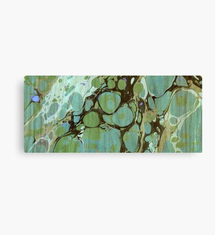 Abstract Painting ; Seaweed Canvas Print
