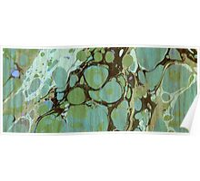 Abstract Painting ; Seaweed Poster