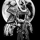 astronaut samurai by BlancaJP