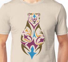 Tribal bear colour Unisex T-Shirt