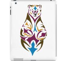 Tribal bear colour iPad Case/Skin