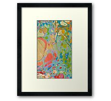 Abstract Painting ; Daydream Framed Print