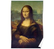 The Mona Lisa By Leonardo Da Vinci Poster
