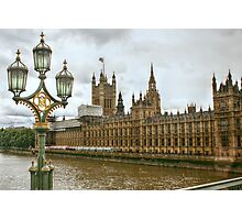 The House of Parliament from the Westminster Bridge Photographic Print