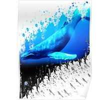 great whale Poster