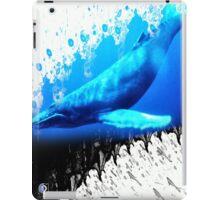 great whale iPad Case/Skin