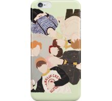 Bangtan pastel (green ver.) iPhone Case/Skin