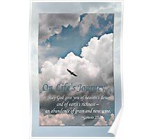 Genesis 27:28 On Life's Journey Poster
