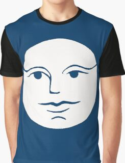 Moon Face Graphic T-Shirt