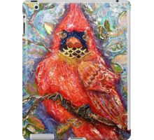 Cardinal of Regal Disposition, by Alma Lee iPad Case/Skin
