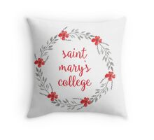 Saint Mary's College Throw Pillow