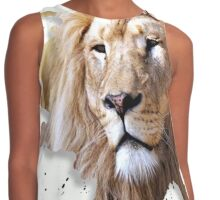 leo the lion Contrast Tank