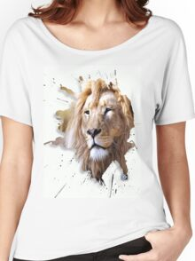leo the lion Women's Relaxed Fit T-Shirt