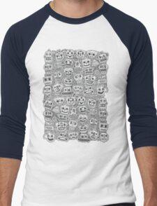 Oodles of Doodles Men's Baseball ¾ T-Shirt