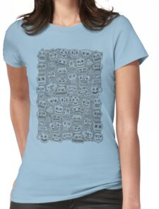 Oodles of Doodles Womens Fitted T-Shirt
