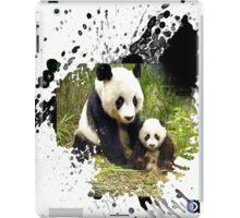 adorable pandas iPad Case/Skin