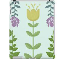 Tulips Retro Floral Pattern iPad Case/Skin