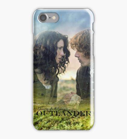Outlander/Jamie & Claire Fraser/Diana Gabaldon iPhone Case/Skin