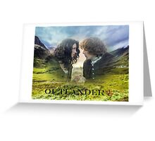 Outlander/Jamie & Claire Fraser/Diana Gabaldon Greeting Card