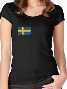 Swedish Patriot Women's Fitted Scoop T-Shirt