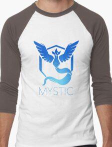 Mystic Team Pokemon Go Men's Baseball ¾ T-Shirt