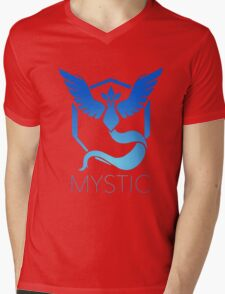 Mystic Team Pokemon Go Mens V-Neck T-Shirt