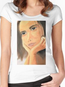 Dreamer Women's Fitted Scoop T-Shirt