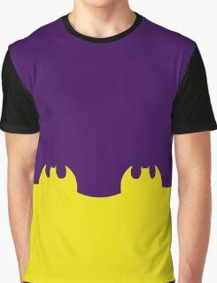 Bat Leggings Purple Graphic T-Shirt