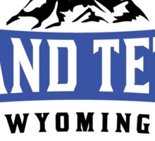 GRAND TETON NATIONAL PARK WYOMING MOUNTAINS 2 Sticker